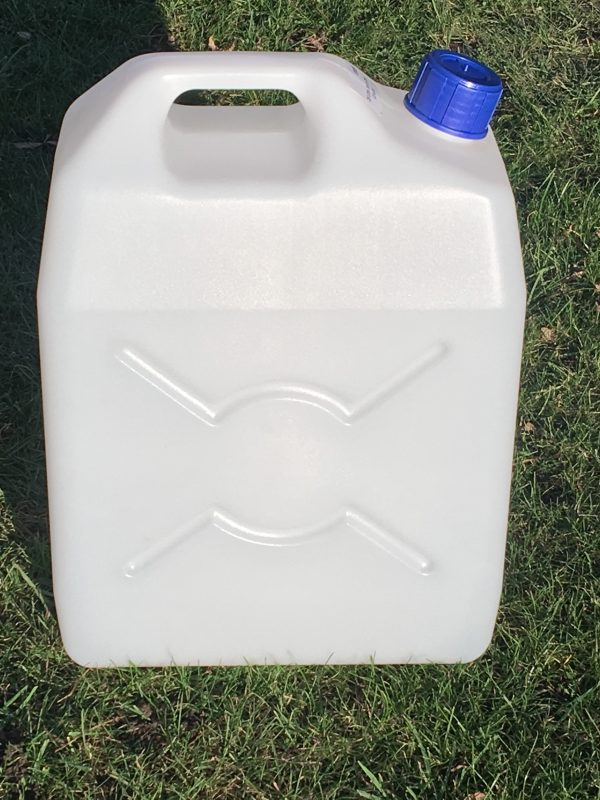 25 litre plastic jerry can